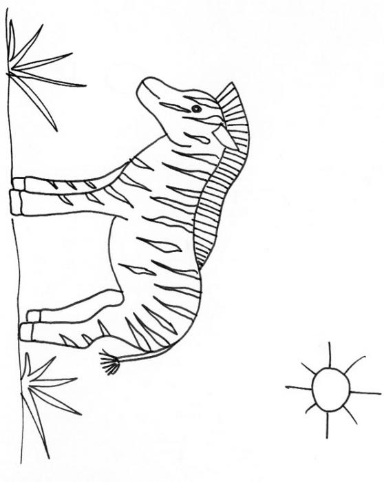 95 Dessins De Coloriage Animaux De La Savane À Imprimer dedans Coloriage Animaux De La Savane