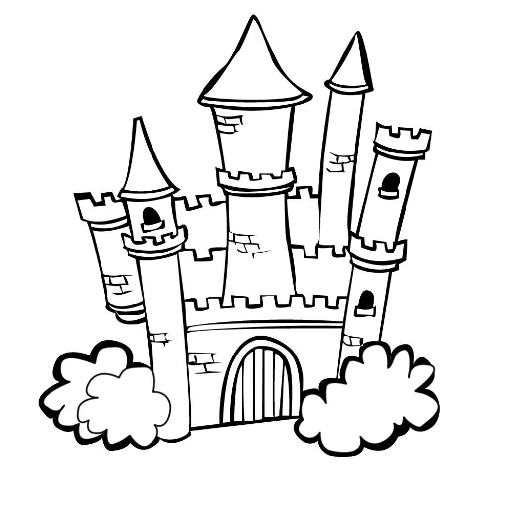 96 Dessins De Coloriage Château À Imprimer Sur Laguerche tout Dessin Chateau Disney