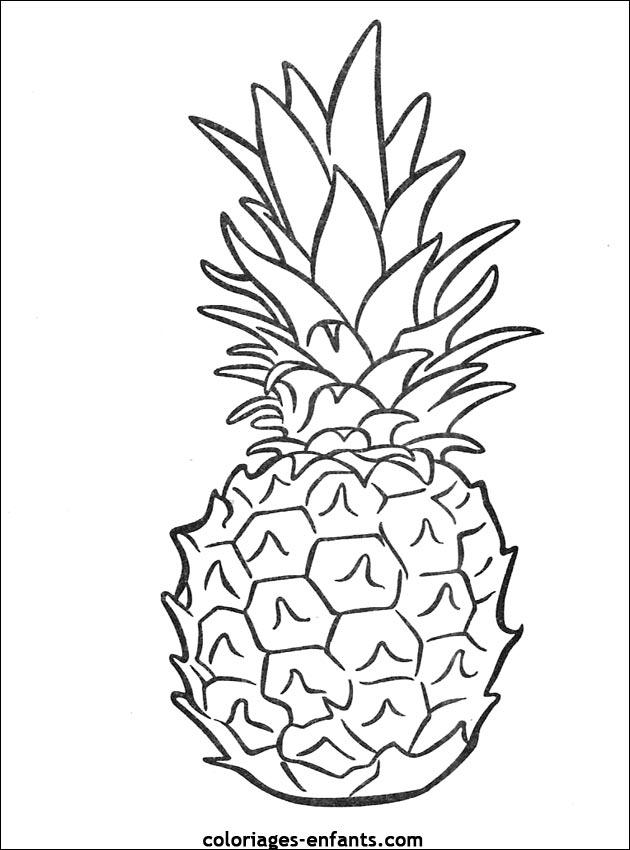 96 Dessins De Coloriage Fruits Et Légumes Rigolos À Imprimer encequiconcerne Coloriage Fruits Et Legumes