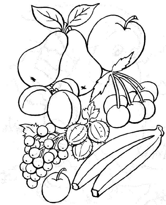 96 Dessins De Coloriage Fruits Et Légumes Rigolos À Imprimer serapportantà Coloriage Fruits Et Legumes