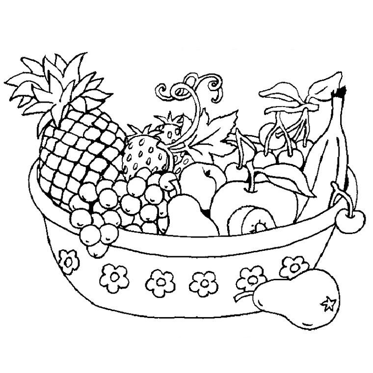 96 Dessins De Coloriage Fruits Et Légumes Rigolos À Imprimer tout Coloriage Fruits Et Legumes