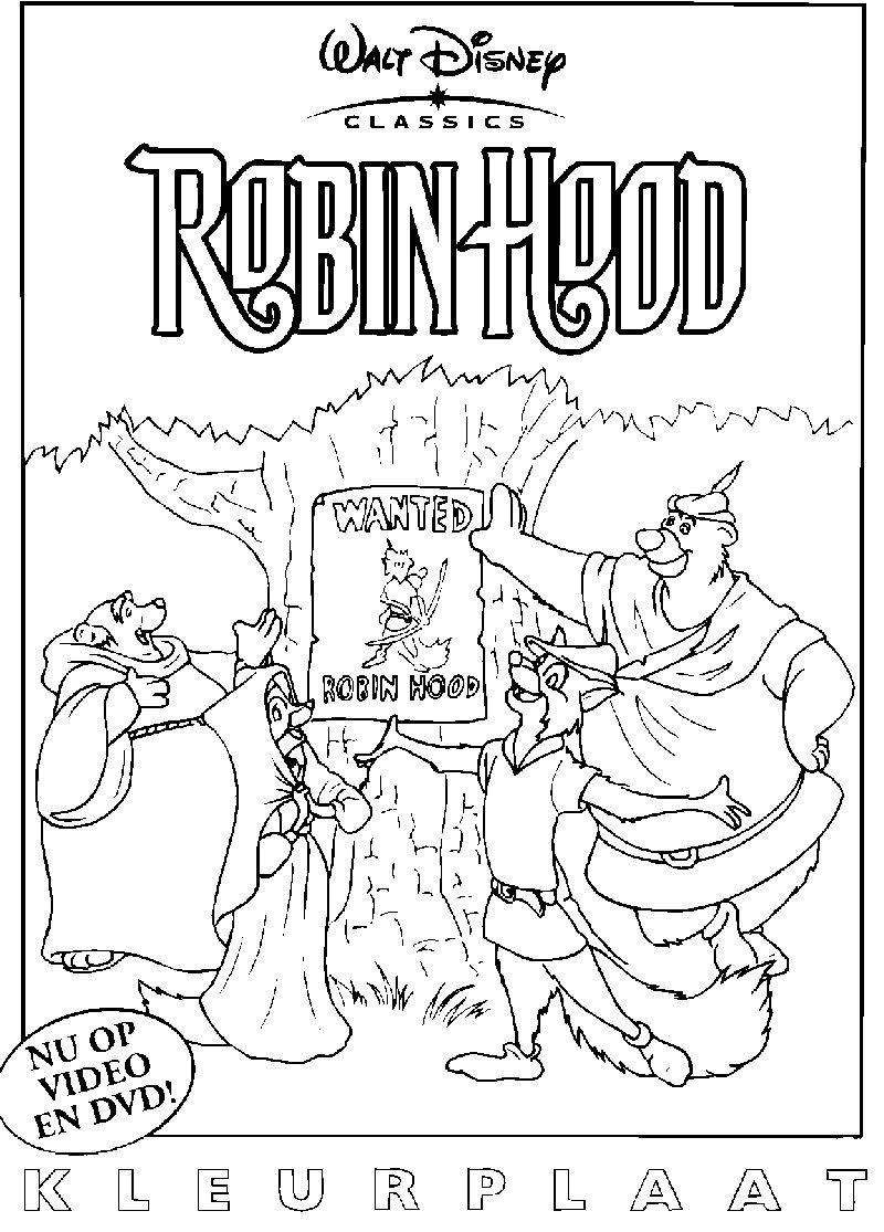 98 Das Beste Von Malvorlage Robin Hood Fotografieren pour Coloriage Robin Des Bois