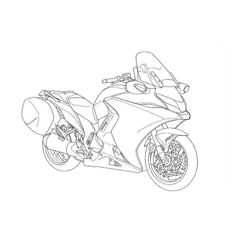 98 Dessins De Coloriage Moto Course À Imprimer pour Coloriage Moto De Course A Imprimer Gratuit