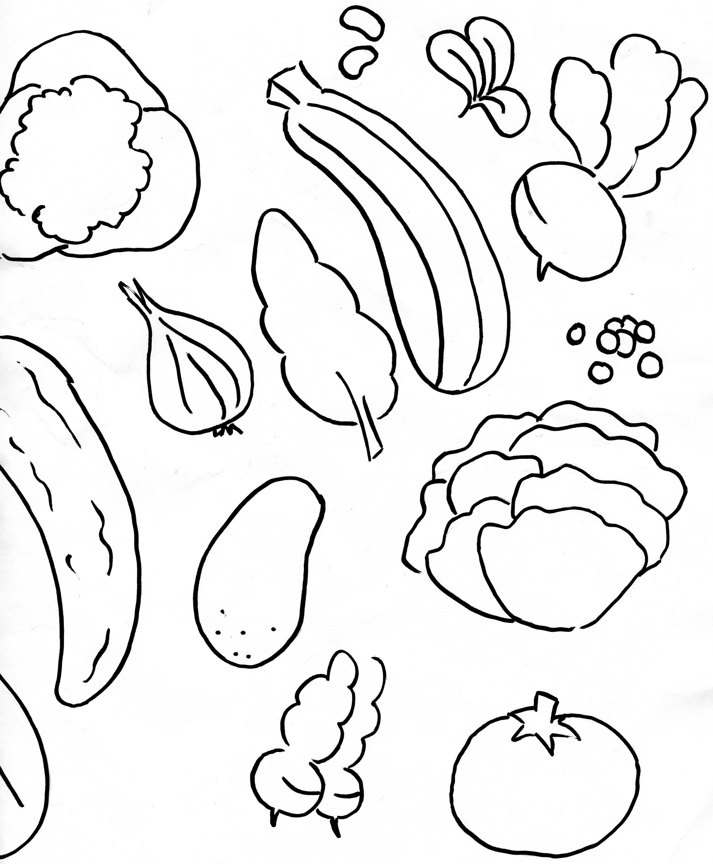 99 Dessins De Coloriage Fruit Et Legume À Imprimer avec Coloriage Fruits Et Legumes