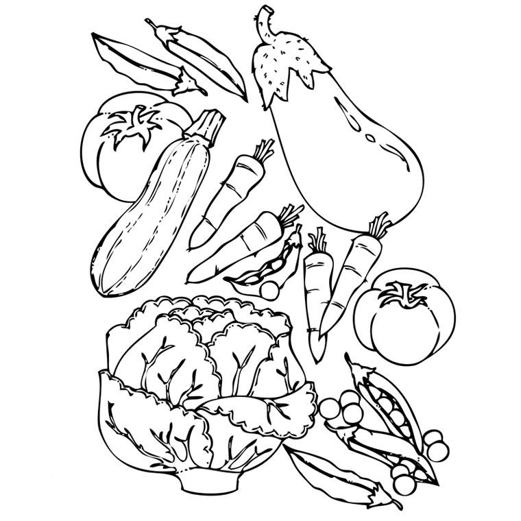 99 Dessins De Coloriage Fruit Et Legume À Imprimer pour Coloriage Fruits Et Legumes