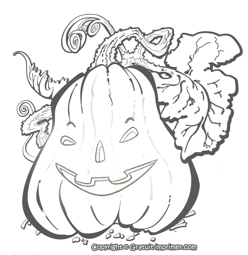 99 Dessins De Coloriage Halloween A Imprimer Qui Fait Peur avec Dessin Halloween À Imprimer Gratuit