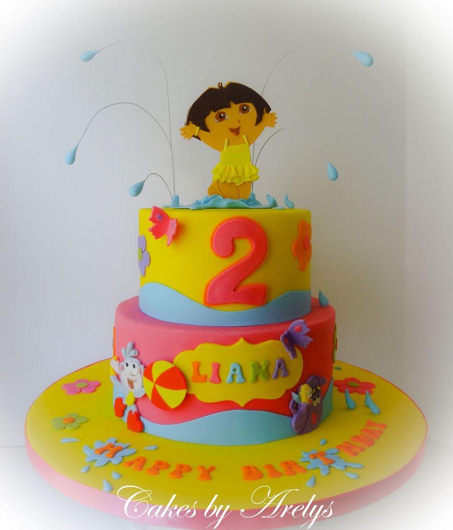 A Dora The Explorer Cake - Cakecentral à Gateau Dora