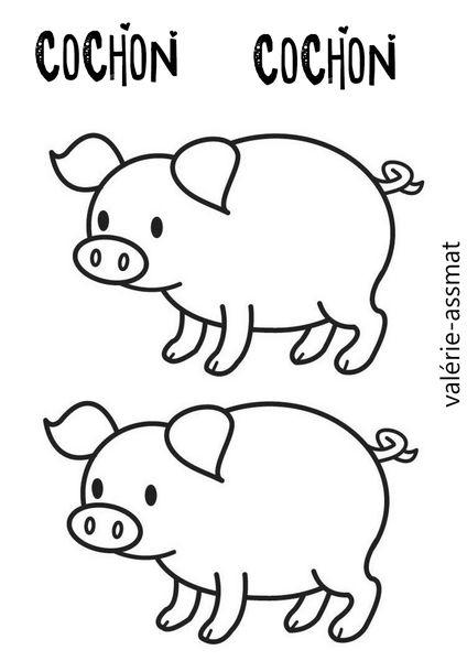 À La Ferme - Le Blog De Nounoucoindespetits serapportantà Dessin Petit Cochon