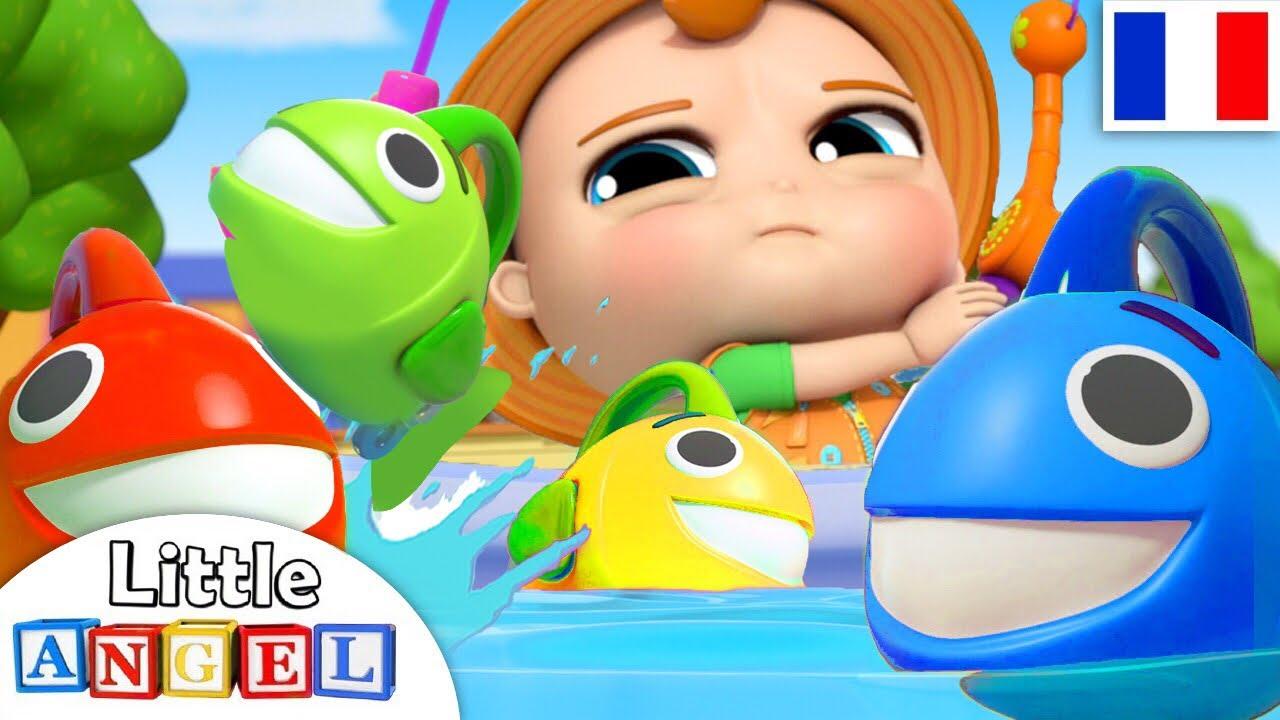 À La Pêche Aux Poissons - Comptines Et Chansons Pour Bébé encequiconcerne Comtine Bebe