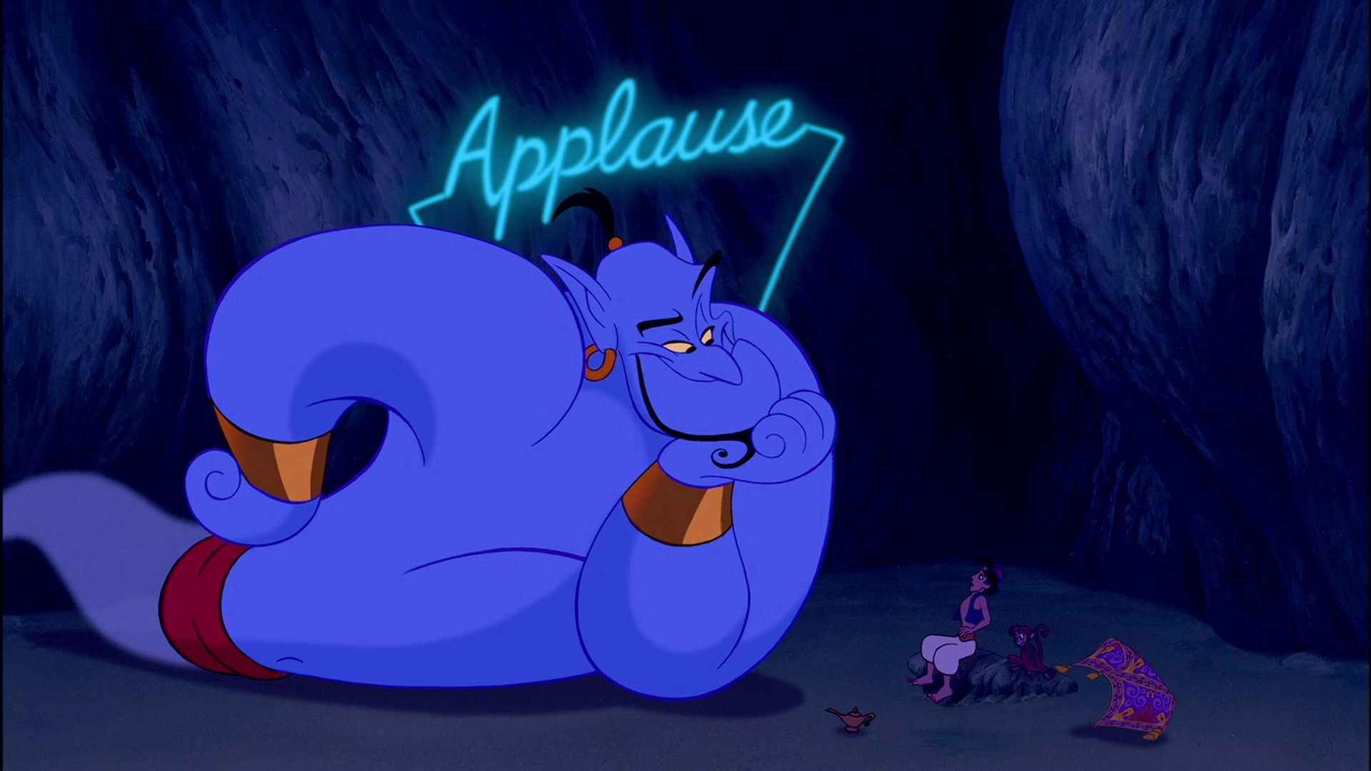 A Tribute To Robin Williams | The Disney Times intérieur Génie D Aladin