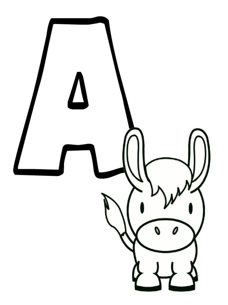 Abécédaire Animaux À Imprimer Gratuitement !   Abécédaire serapportantà Coloriage Alphabet Complet A Imprimer