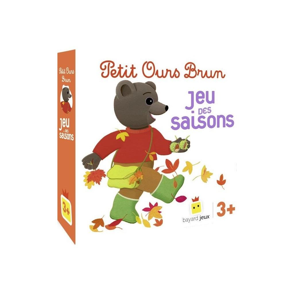 Acheter Petit Ours Brun – Jeu Des Saisons - Jeux De avec Jeux De Petit Ours Brun Gratuit