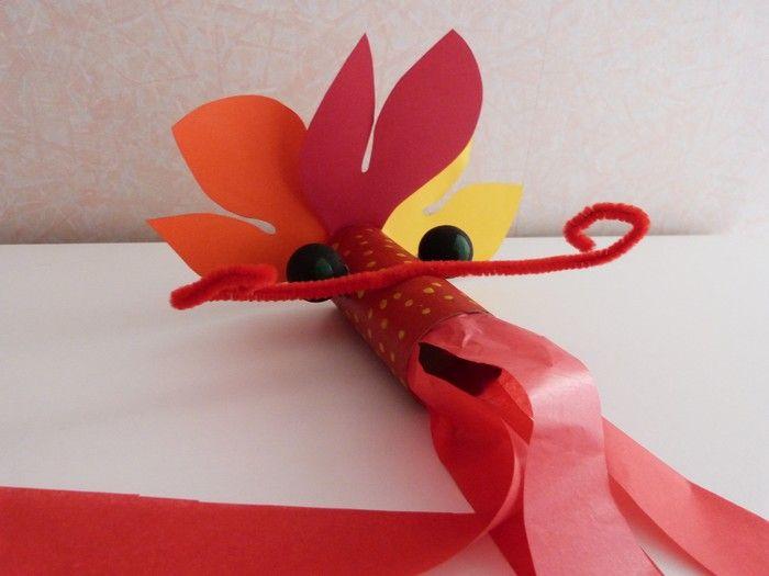 Activité Enfant: Le Dragon Chinois   Rouleau Papier encequiconcerne Fabriquer Un Dragon Chinois