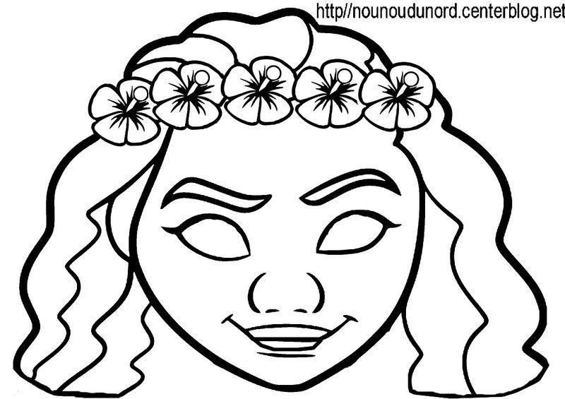 Activite Masque A Imprimer concernant Coloriage Carnaval A Imprimer Gratuit