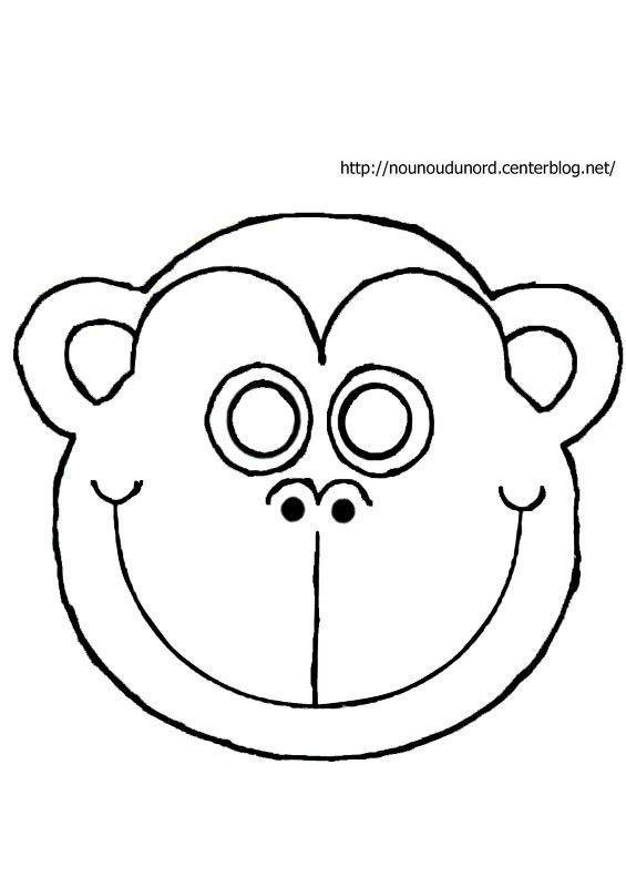 Activite Masque A Imprimer - Page 3 intérieur Masque D Animaux À Colorier