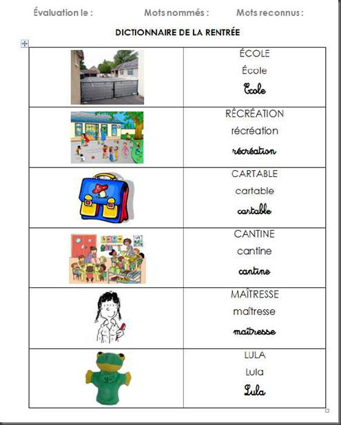 Activites Sur La Rentree En Maternelle - Recherche Google destiné La Rentree En Grande Section