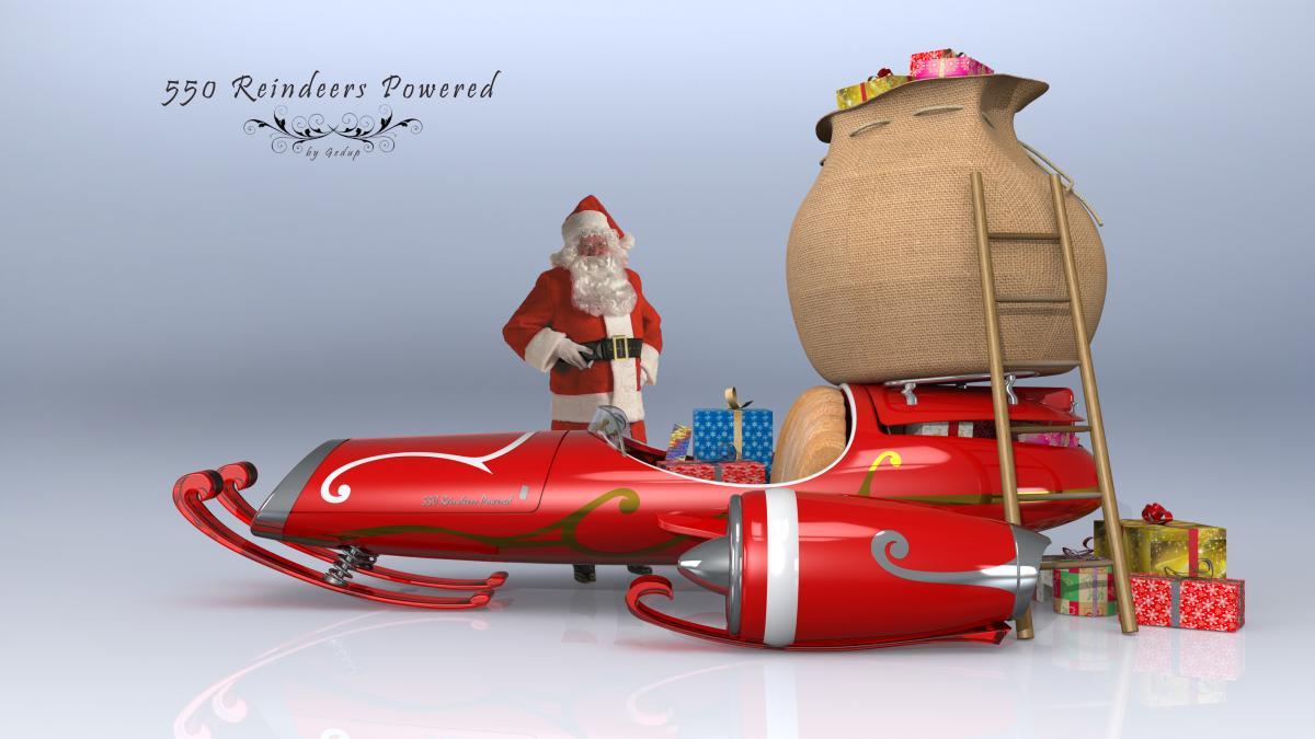 Actualités Cao | Challenge Express Spécial Noël : Voici dedans Traineaux Du Pere Noel