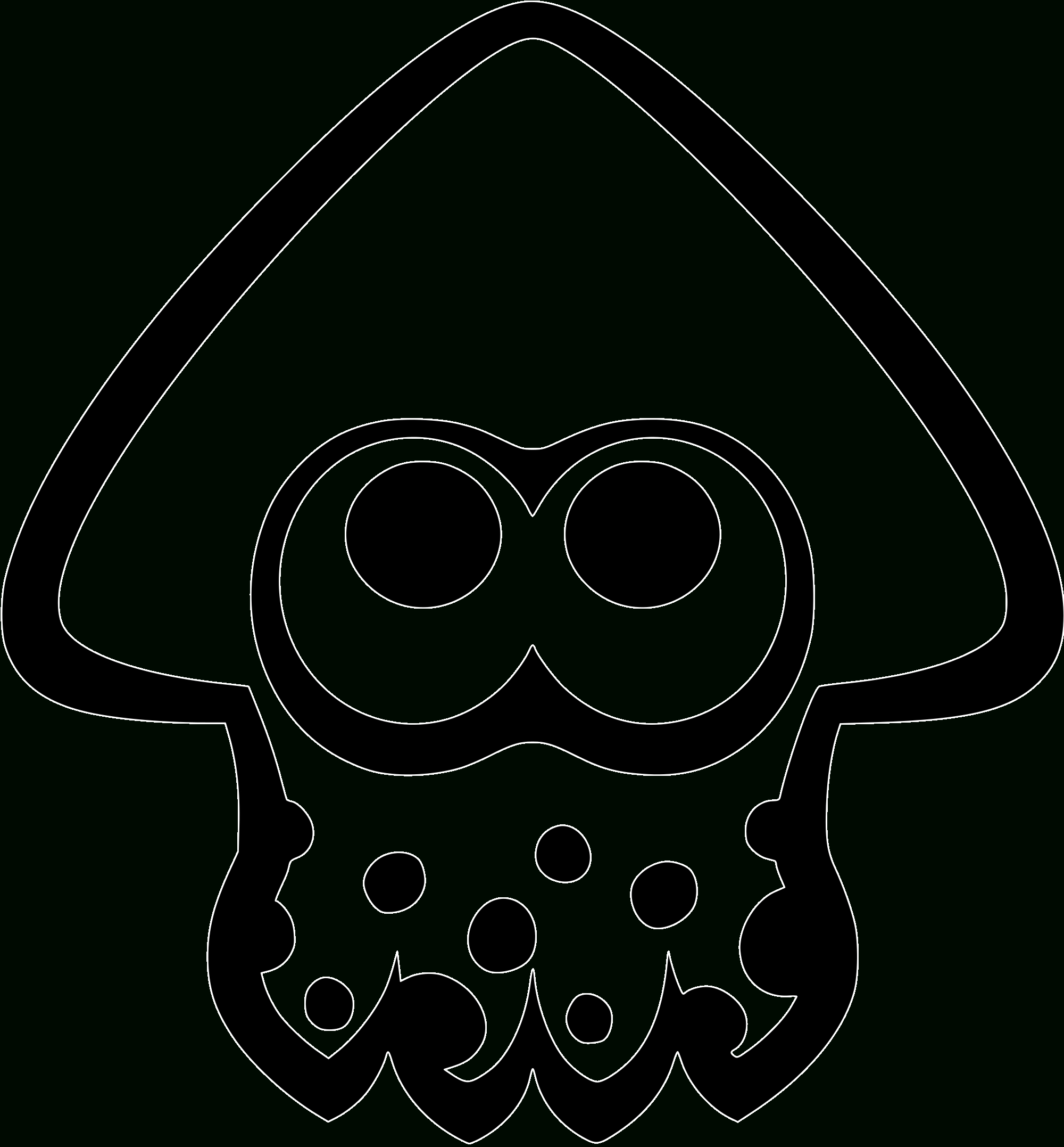 Adonis - Dos Sweat Capuche - Splatoon   Materiales De tout Coloriage Splatoon
