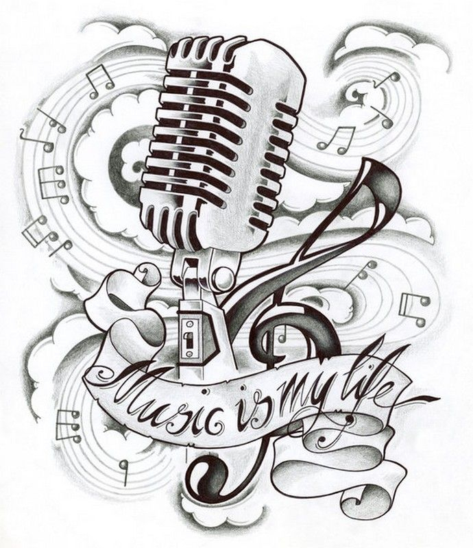 Adult Coloring Page Music Is My Life | Coloriage Musique dedans La Fete De La Musique Coloring Book