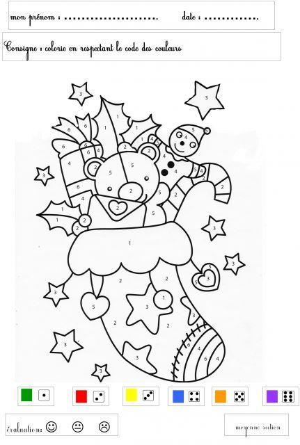 Afficher L'Image D'Origine | Coloriage Magique Noel pour Coloriage Moyenne Section À Imprimer