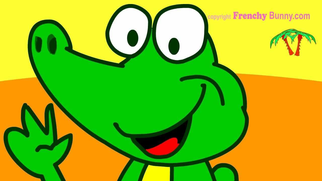 Ah Les Crocodiles! Chanson Et Comptine Enfant - Frenchy encequiconcerne Les Chanson De Bebe