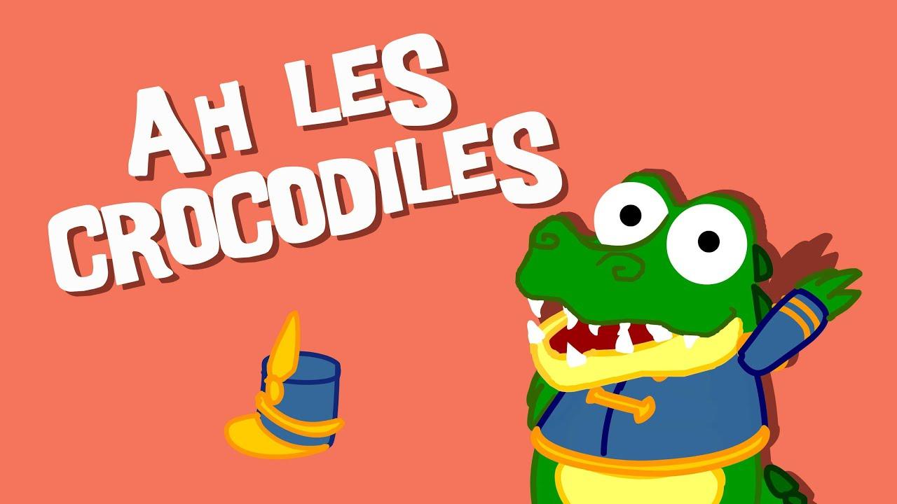 Ah Les Crocodiles - Comptine Pour Enfant - destiné Contines Enfant