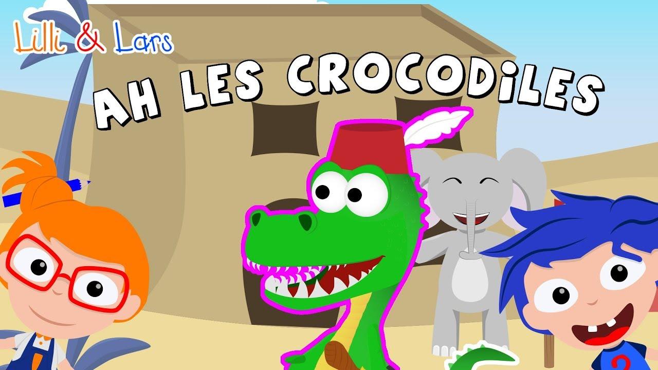 Ah Les Crocodiles Comptines Et Chansons - Ah Les avec Comptine Pour Bebe Gratuit