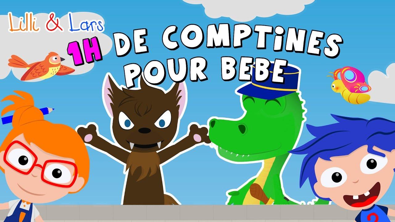 Ah Les Crodcodiles - 1H De Comptines Pour Bébé - Comptines encequiconcerne Comptine Pour Bebe Gratuit