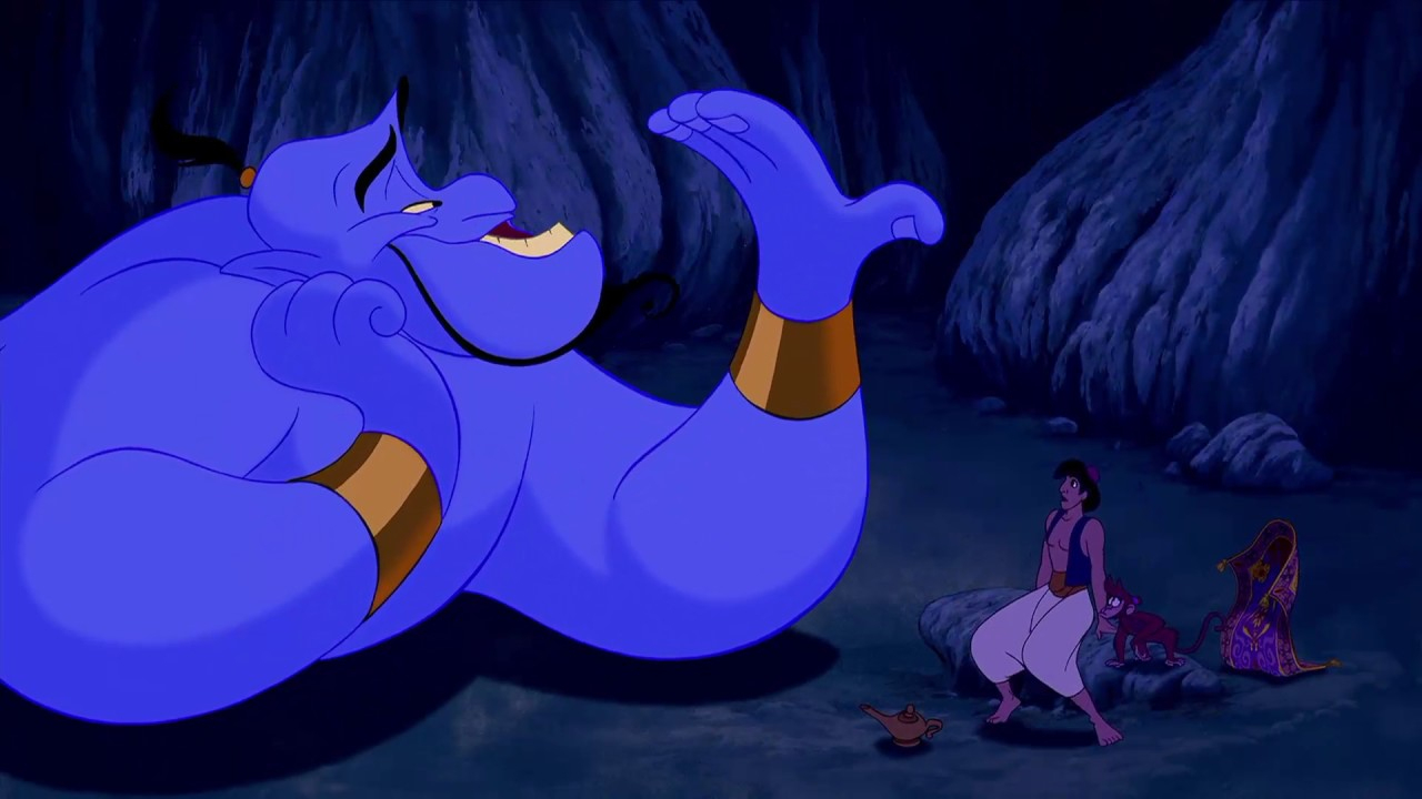 Aladdin - Aladdin Meets Genie - Greek - pour Génie D Aladin