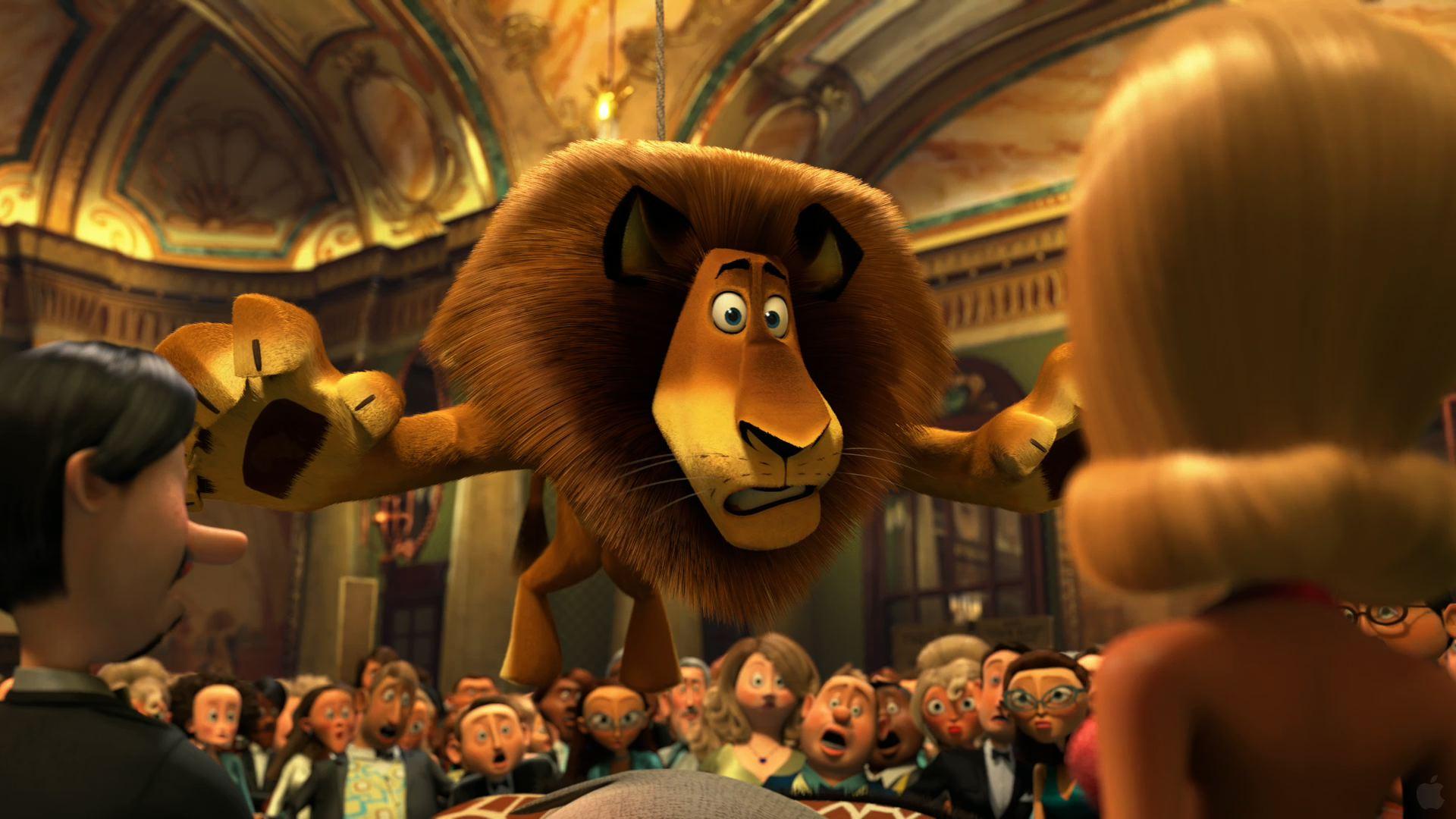 Alex The Lion In Madagascar 3: Europe's Most Wanted intérieur Madagascar 3 Alex