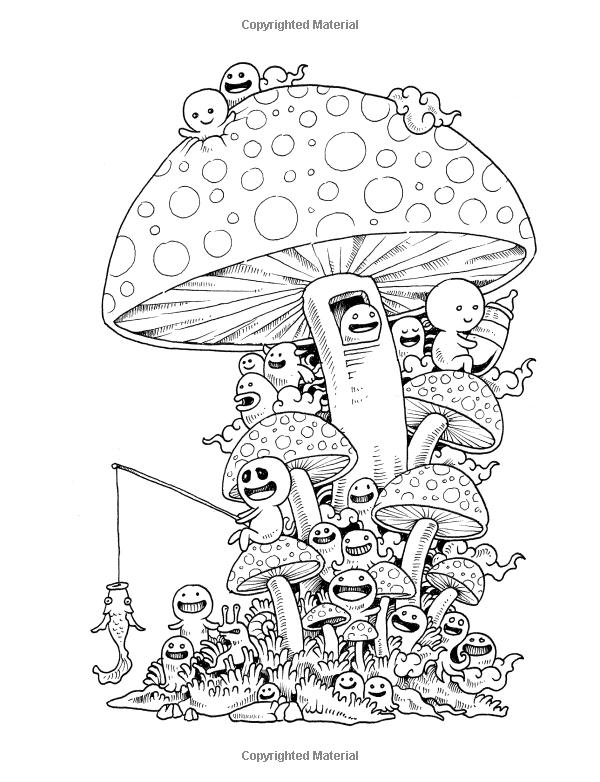 Amazon: Doodle Invasion: Zifflin'S Coloring Book pour Book Coloriage