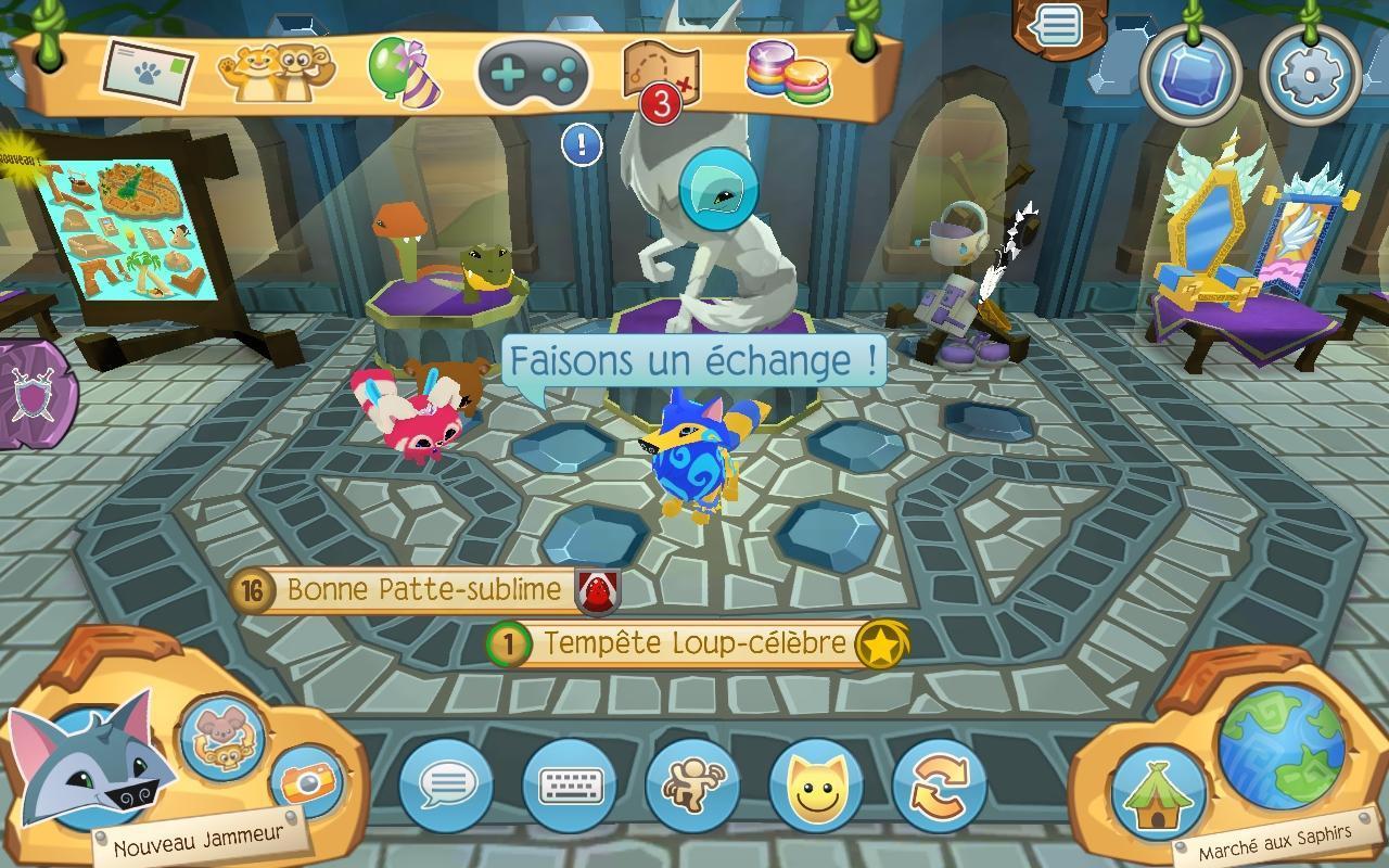 Animal Jam Pour Android - Téléchargez L'Apk destiné Jeux Animal Jam
