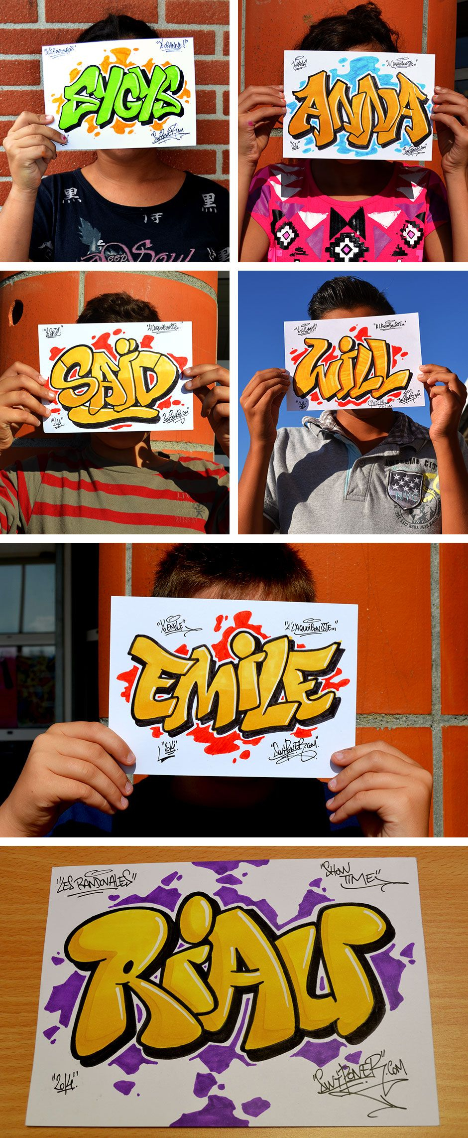 Animation Graffiti Prénoms | Graffiti Prenom, Lettrage dedans Tag A Dessiner