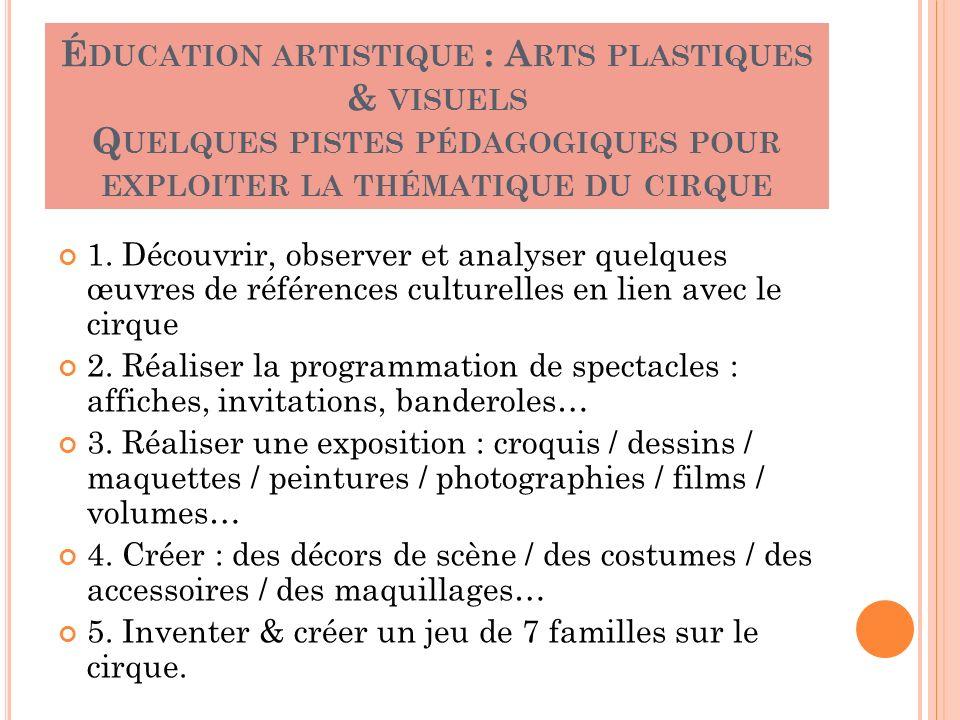 Animation Pedagogique Mercredi 17 Mars 2010 destiné Arts Plastiques Programmation Techniques