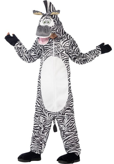 Animaux - Déguisement Marty Le Zèbre De Madagascar concernant Zebre Dans Madagascar