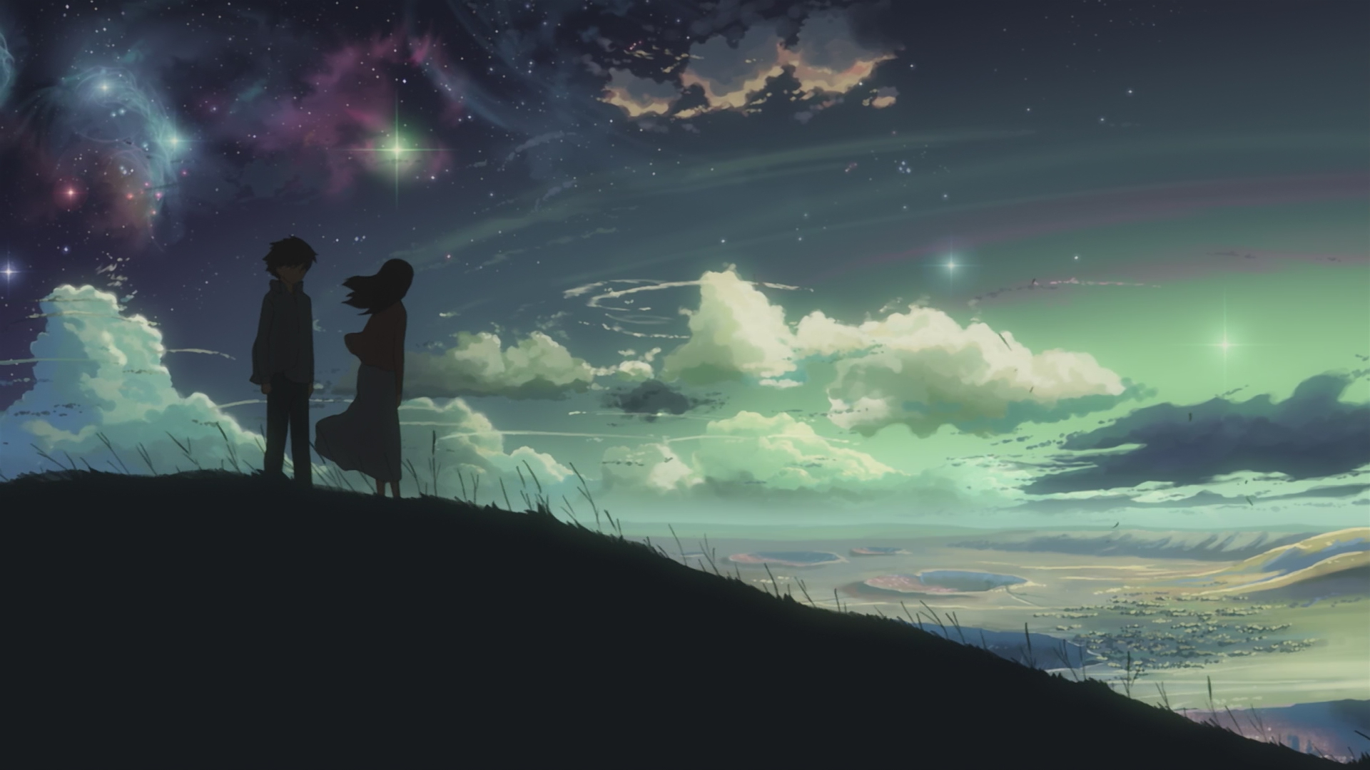 Anime Sky Centimeters Per Second Wallpapers Hd Desktop And intérieur Fond D'Ecran Hd Themes Elie S Book