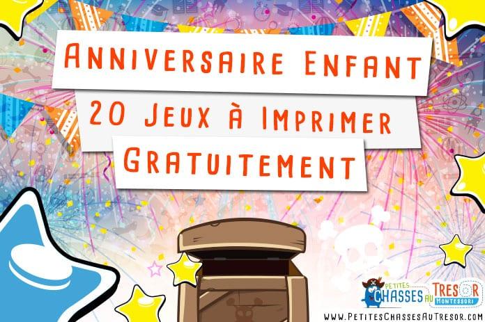 Anniversaire Enfant - 20 Kits De Jeux À Imprimer Gratuitement serapportantà Jeux Pour Petite Fille Grtuits