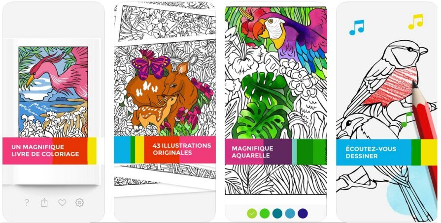Application Coloriage Avec Effets Sonores : Tayasui Color encequiconcerne Coloriage Application Gratuite