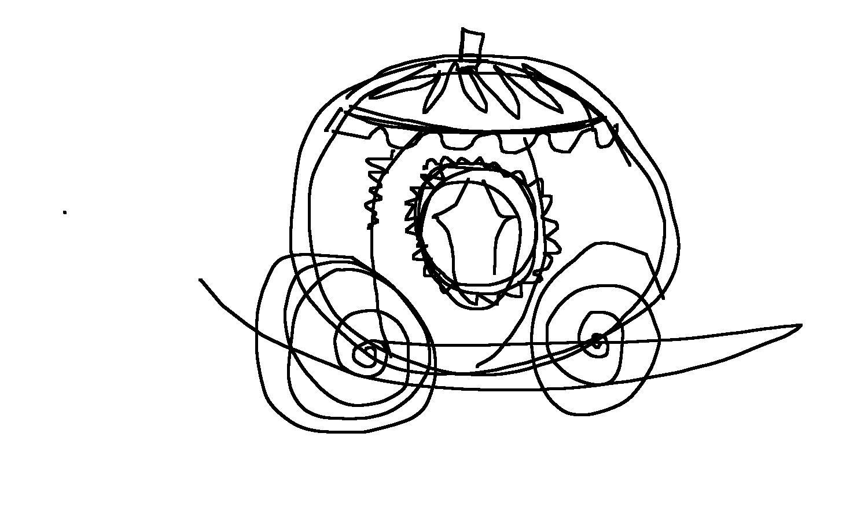 Apprendre À Dessiner Le Carrosse De Cendrillon | Dessin destiné Dessin Carrosse