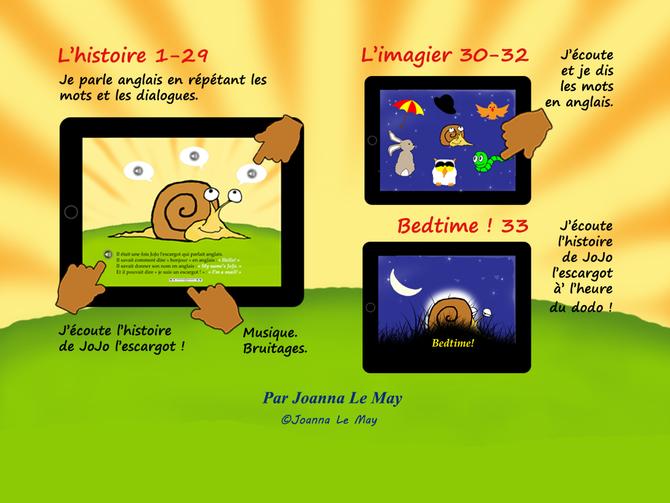 Apprendre L'Anglais À Vos Jeunes Enfants Dès La Maternelle concernant Jojo L Escargot
