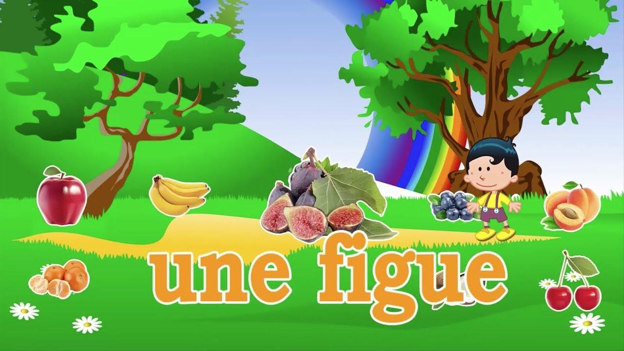Apprendre Les Chiffres, Les Fruits & Légumes - Dessin dedans Titounis Decouverte