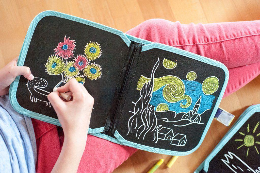Ardoise De Coloriage Van Gogh Jaqjaq Bird #Activite# à Coloriage Ardoise