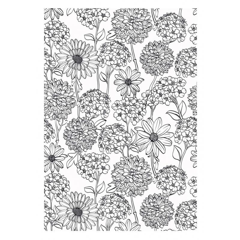 Art-Thérapie 100 Coloriages Fleurs - Les Papiers De Lucas serapportantà Art Thérapie Coloriage