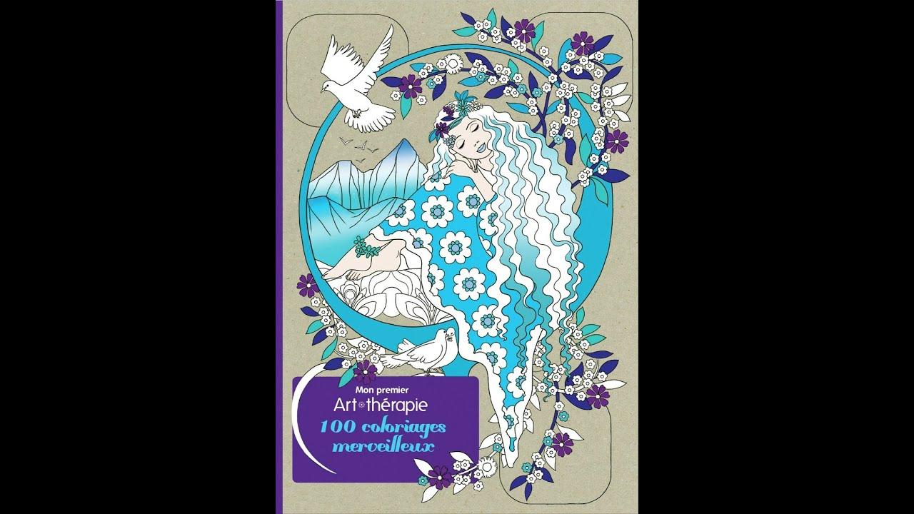 """Art Thérapie """"100 Coloriages Merveilleux"""" - pour Coloriage Art Thérapie"""