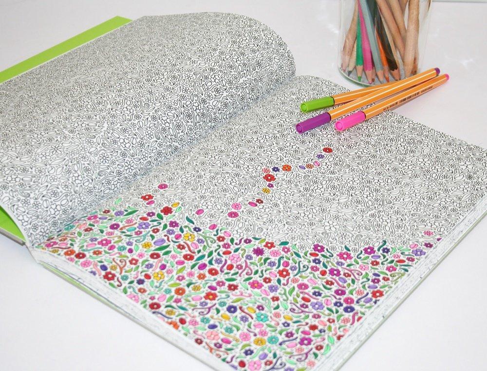 Art Thérapie: J'Ai Testé Le Coloriage Anti Stress - Cultura à Art Thérapie Coloriage