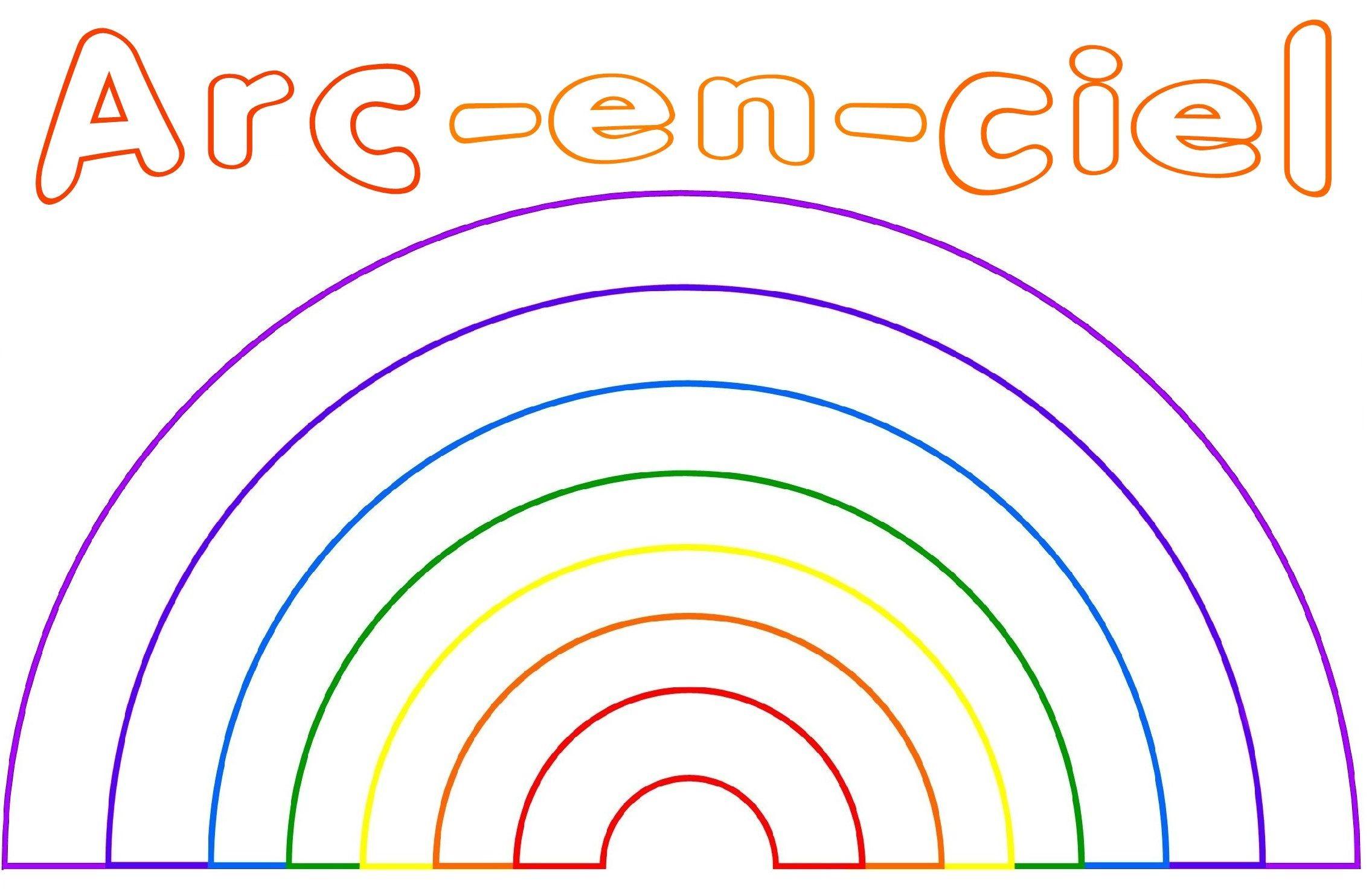 Atelier Arc En Ciel - Page 2 pour Arc En Ciel A Colorier
