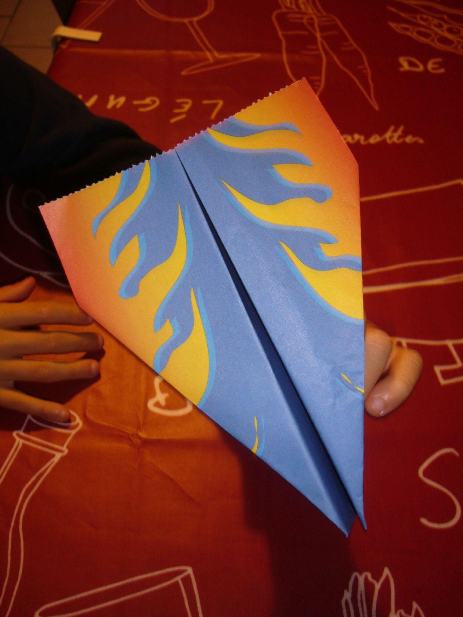 Atelier Origami 2 (Avions En Papier) - Sandrine La Sardine concernant Origami Facile Avion