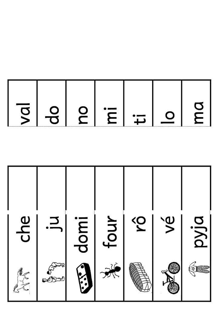 Atelier Recomposer Mots   Lecture Compréhension Ce1 destiné Fiche Exercice Grande Section