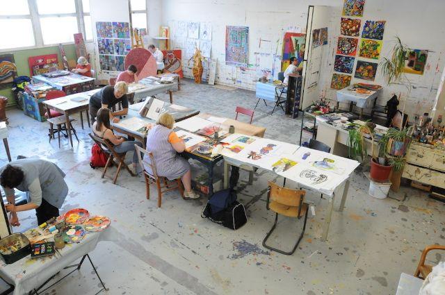 Ateliers - Les Ateliers Nos Animateurs, Eux-Mêmes Artistes à Arts Plastiques Programmation Techniques