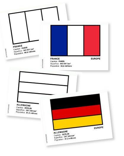 Atlas Des Drapeaux Du Monde À Colorier | Géographie, Coupe serapportantà Drapeau A Imprimer